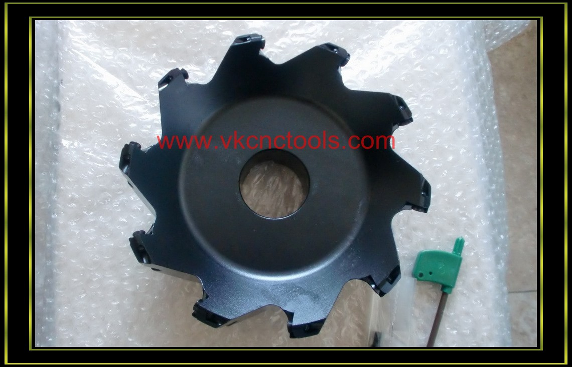 SE445L Type Left Hand 45Degree Face Milling Cutter(Turn Left)